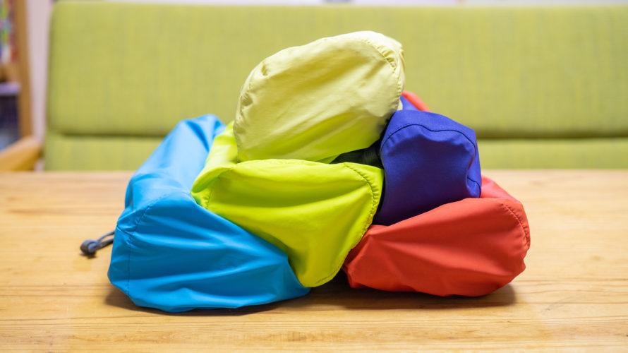 【ソロキャンプ準備】かさばる小物をキレイに整頓。 モンベルスタッフバッグ が優秀すぎる!